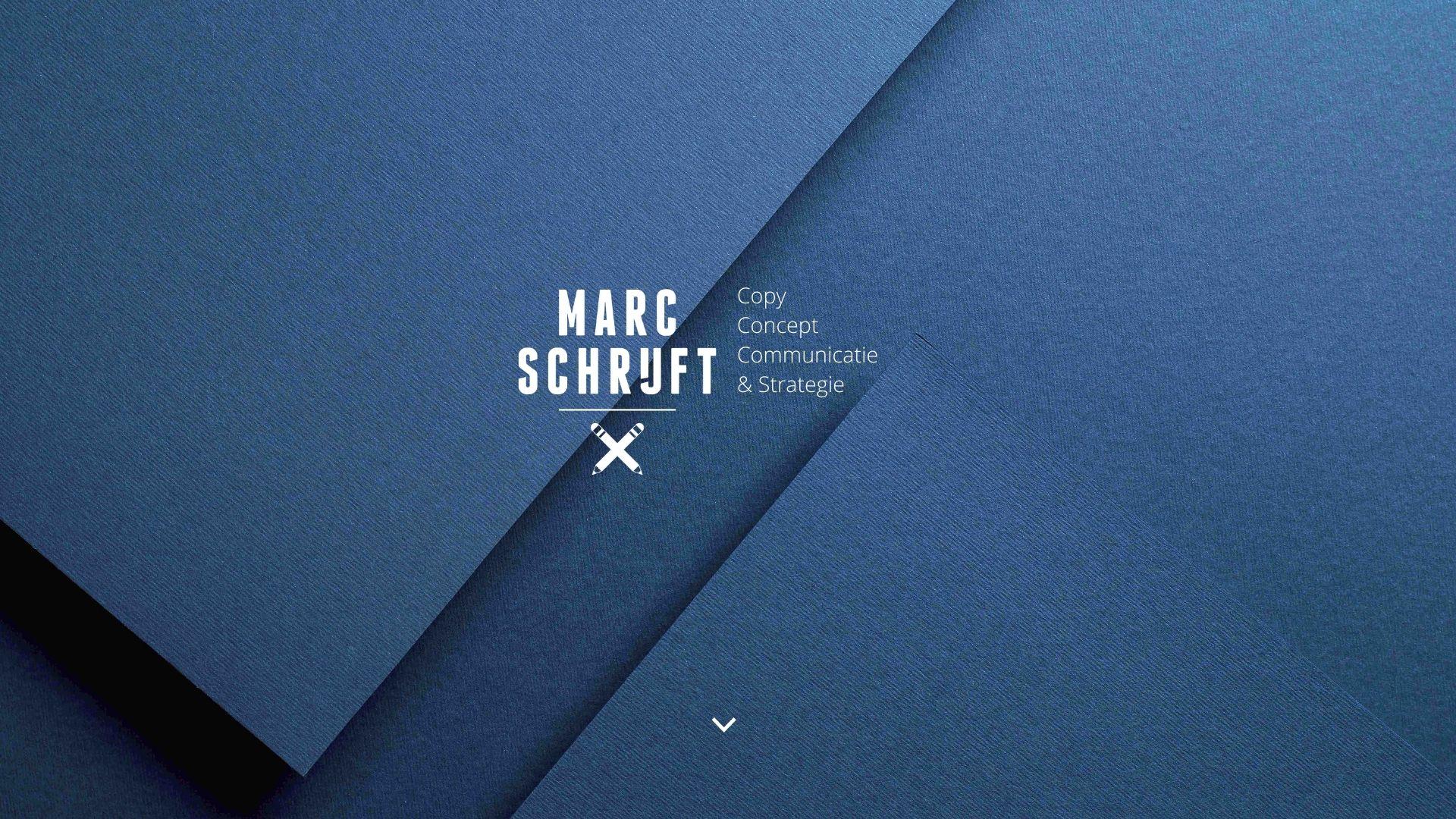 Marc schrijft. Copy, concept, communicatie en strategie